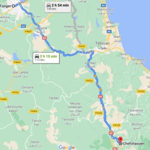 Traslado desde Tánger a Chefchaouen