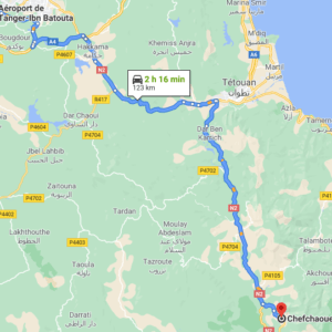 Traslado desde el Aeropuerto de Tánger a Chefchaouen