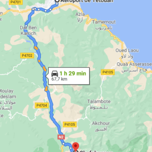 Traslado desde el Aeropuerto de Tetuán a Chefchaouen